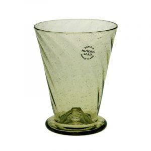 Litet optikblåst glas