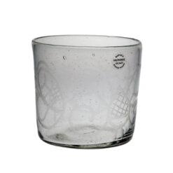 Glas med gravyr, Birka