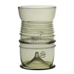 Relikglas med glastrådsdekor