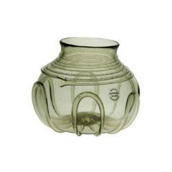 Trådornerad skål