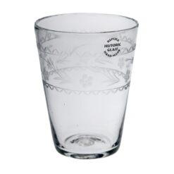 Selterglas med gravyr