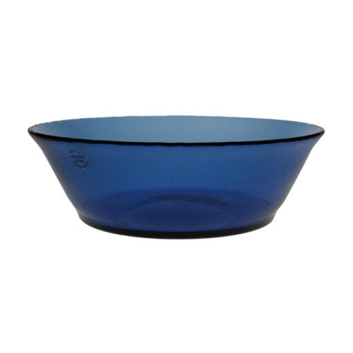 Blå skål, låg