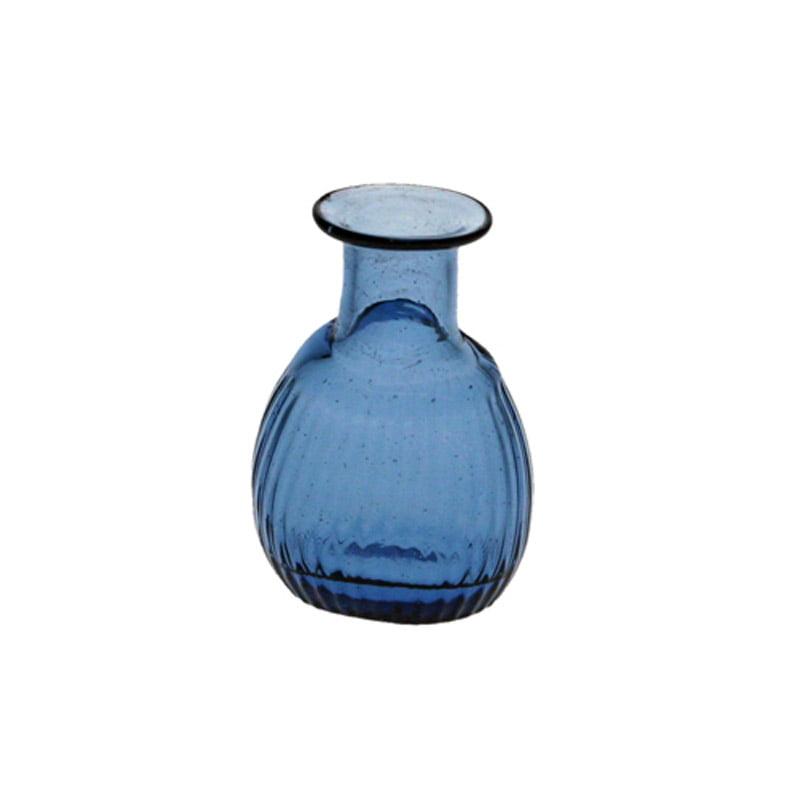Liten blå flaska, 4 cl