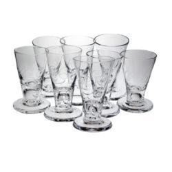Numrerade snapsglas, frimurarorden