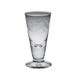 Spetsglas med gravyr, Cedersberg