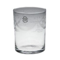 Dricksglas med gravyr