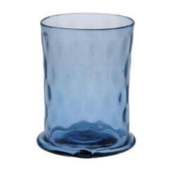 Blått optikblåst glas