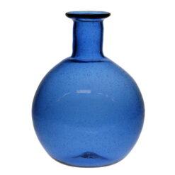 Romersk rund flaska, blå