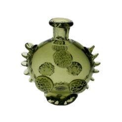 Liten flaska med noppor & dekor