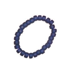 Armband, blått glas, vikingatid