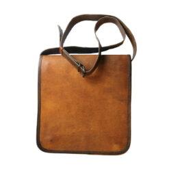 Väska av läder, rektangulär