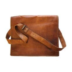 Väska av läder, laptopmodell