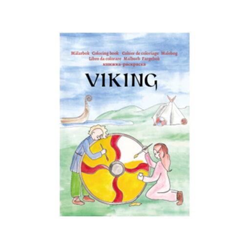 Målarbok - Viking