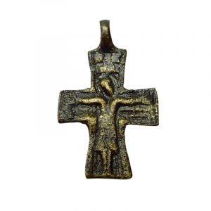 Bysantinskt bronskrucifix